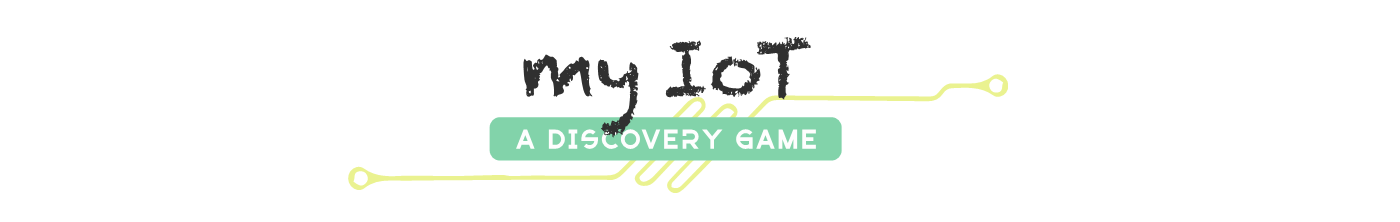 My IoT a discovery game logo
